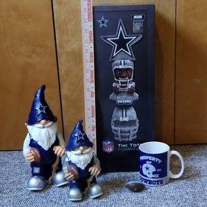 Dallas Cowboys fan gift set